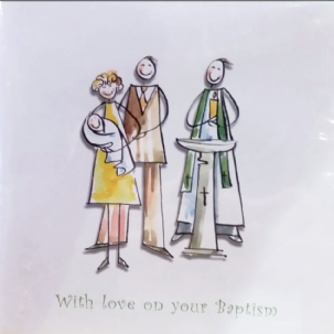 With love on your Baptism
